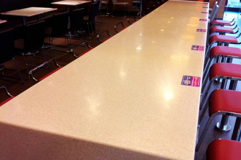人造石餐厅餐桌